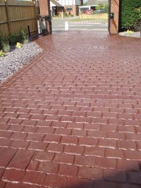 Driveway Cleaning Wales, Patio Cleaning Wales image